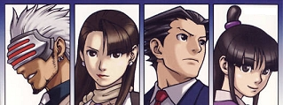 Ace Attorney - trials and tribulations (2)