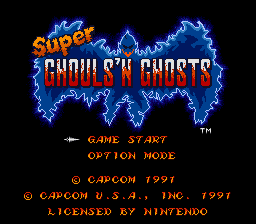 Super Ghouls'n'Ghosts (1)