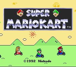 Super Mario Kart (1)