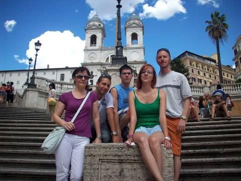 In Piazza di Spagna