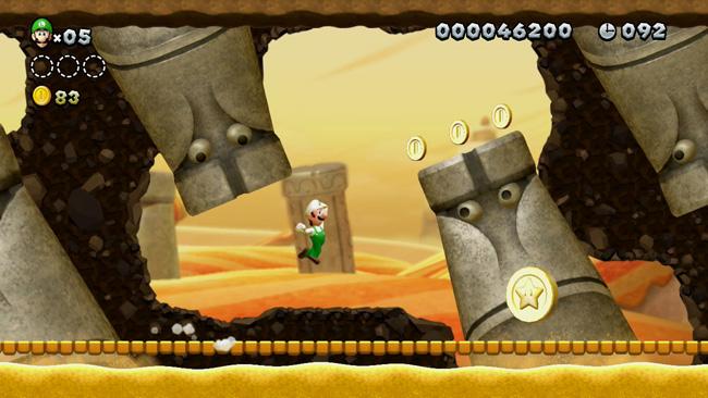 Luigi che salta