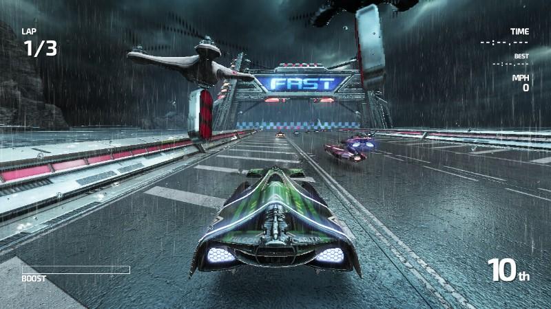 FAST Racing Neo - Con la pioggia