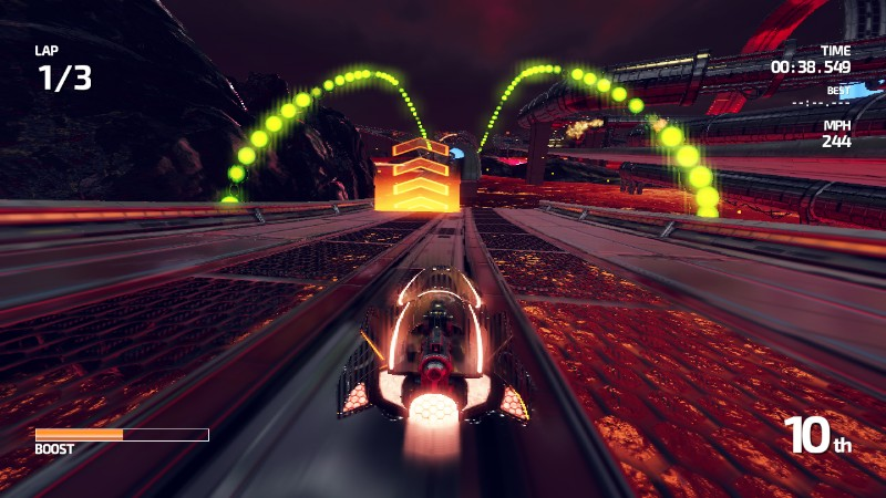 FAST Racing Neo - Ambientazione