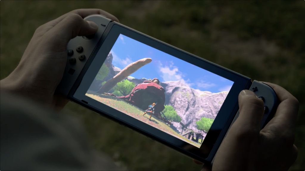 Un video che mostra in azione il touchscreen di Nintendo Switch