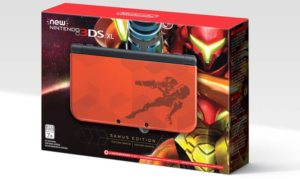 Annunciato il New Nintendo 3DS XL di Metroid: Samus Returns