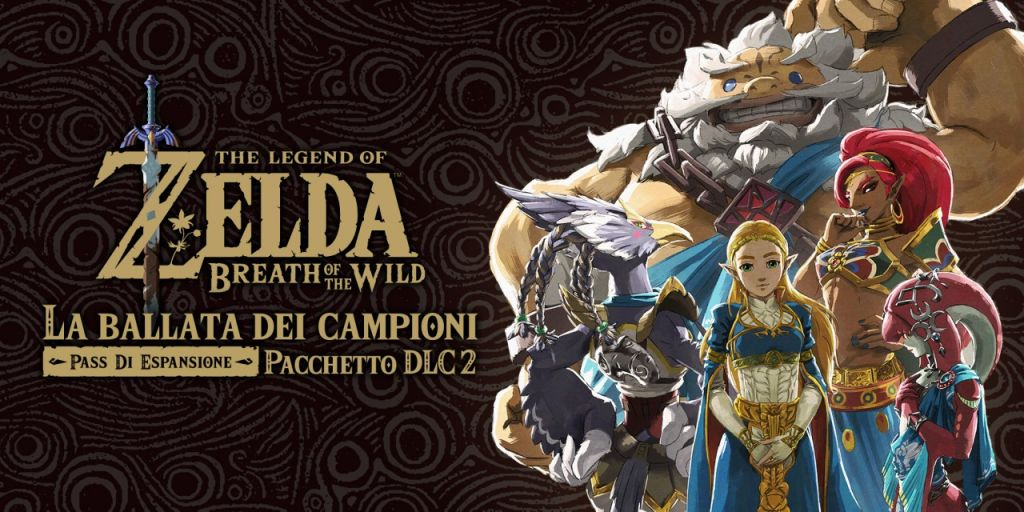 Il 2º DLC di Zelda: Breath of the Wild è ora disponibile!