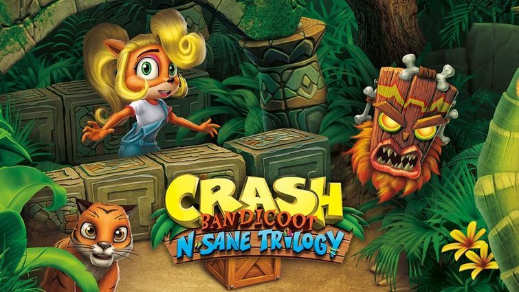 Crash Bandicoot in arrivo su Switch