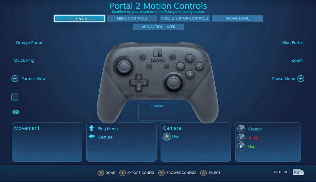 Steam: da oggi pieno supporto del controller PRO Switch