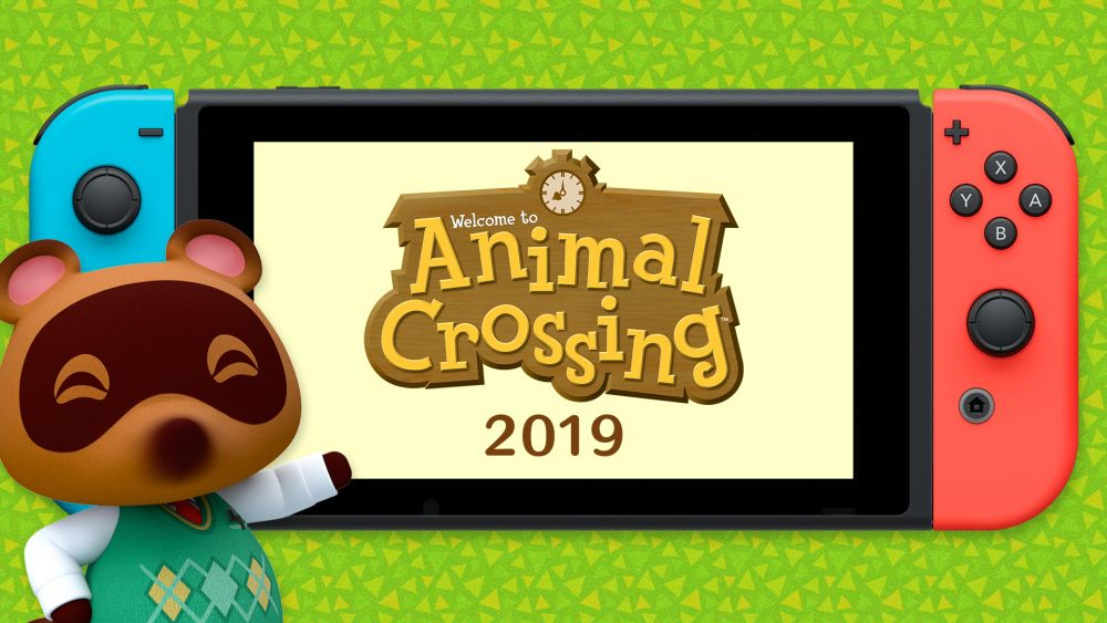 Animal Crossing per Nintendo Switch!