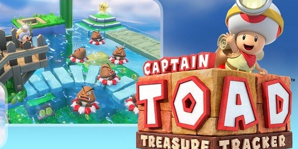 Ecco il trailer di lancio europeo per Captain Toad: Treasure Tracker