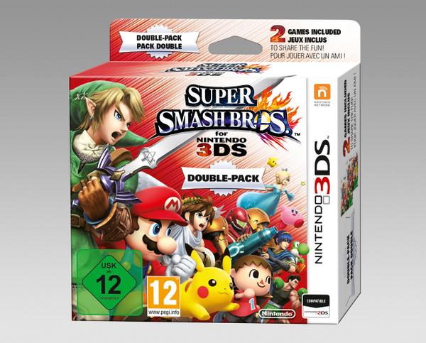 Annunciato il Double Pack per Super Smash Bros.