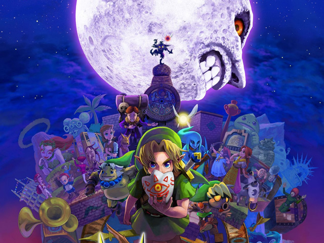 Ecco le differenze grafiche per Majora's Mask tra 3DS e N64!